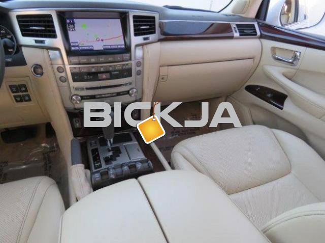 EXPAT USED LEXUS LX 570 SUV - 4/4