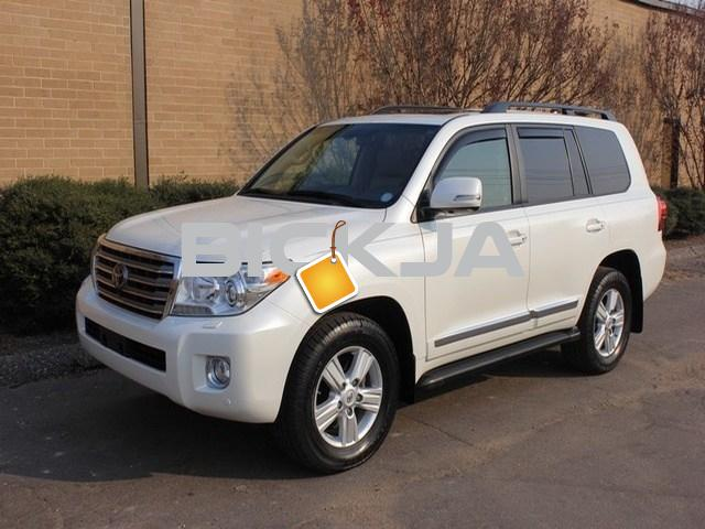MY 2014 TOYOTA LAND CRUISER FOR SALE - 3/4