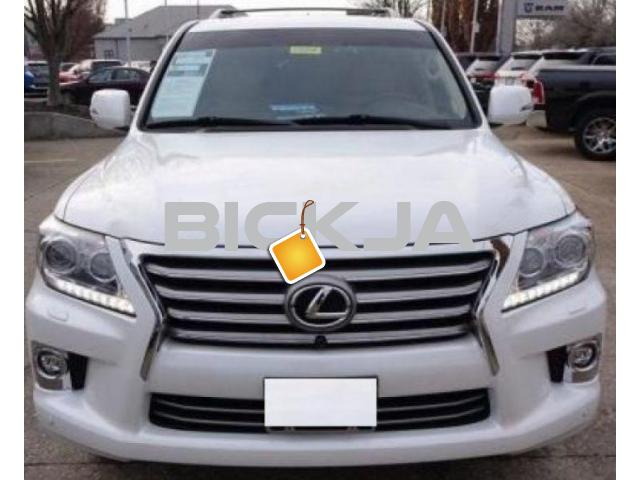 LEXUS LX 570 2015 WITH AFFORDABLE COST - 1/4