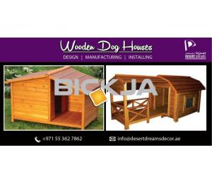 Wooden Dog Houses Manufacturer in Uae | Wooden Cat Houses in Abu Dhabi, Dubai.