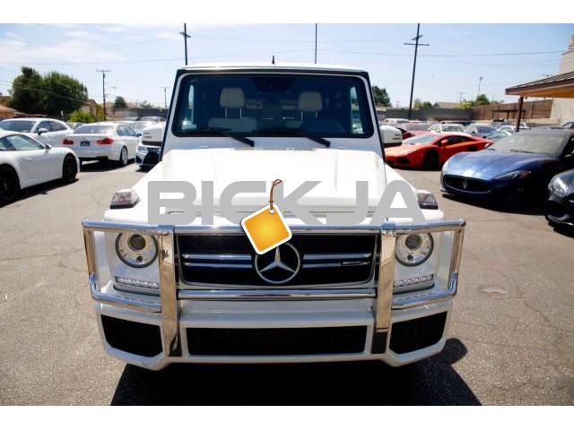 Clean 2015 Mercedes Benz G63 AMG - 1/4