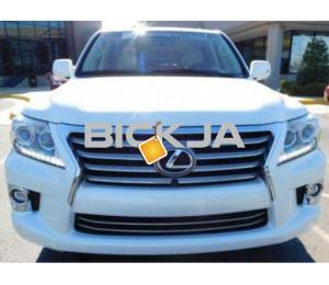 LEXUS LX 570 2014, NO ACCIDENT, WITH FULL WARRANTY