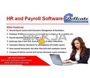 HR Payroll Software with Gratuity Calculation