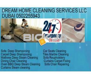 SOFA MATTRESS CURTAINS CARPET STEAM SHAMPOOING