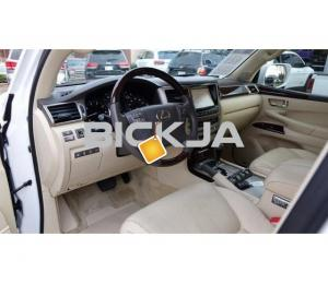 WHITE LEXUS LX 570 2015 AT AFFORDABLE PRICE