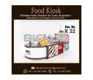 Ice Cream Kiosk Abu Dhabi | Wooden Kiosk | Perfume Kiosk Design UAE
