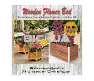 Wooden Planters | Planters For Restaurant Dubai | Garden Planters Abu Dhabi, Dubai