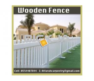 Wooden Fence Dubai   Garden fence   Picket Fence Abu Dhabi