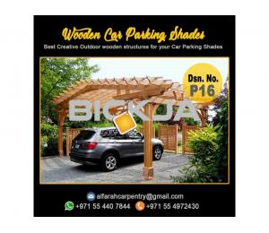 Car Parking Pergola   Car Parking Shade   Wooden Car Parking Dubai
