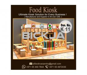 Mall Kiosk Abu Dhabi | Ice Cream Kiosk | Perfume Kiosk