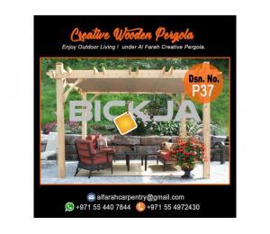 Design And Build Wooden Pergola | Outdoor Pergola | Wooden Pergola Abu Dhabi