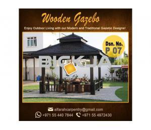 Garden Gazebo Dubai | Gazebo Supliers | Wooden Gazebo