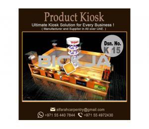 Exhibition kiosk Design | Kiosk Suppliers In Dubai | Wooden kiosk
