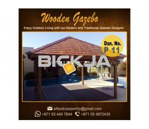 Hard Wood Gazebo | Gazebo design Dubai | Wooden Gazebo Abu Dhabi