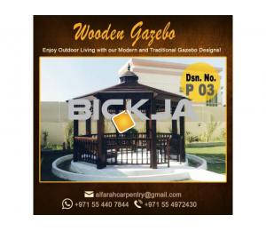 Outdoor Gazebo in Abu Dhabi | Garden Gazebo | Wooden Gazebo Dubai UAE