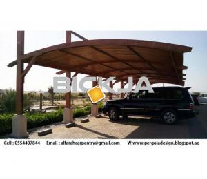 Car Parking Shades Dubai | Wooden car Parking | Car Parking Pergola Dubai , UAEE